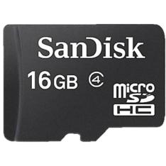 [Americanas] Cartão De Memória 16Gb Micro Sd + Adaptador SD