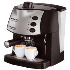 [Clube do Ricardo]Máquina de café expresso Mondial 15 xícaras R$ 300,00