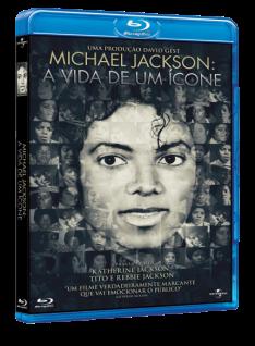 [Saraiva] Blu-Ray Michael Jackson - A Vida de Um Ícone - R$9
