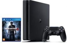 [Peixe Urbano] Console Playstation 4 - PS4 Slim 500gb 2015a + Uncharted 4 em até 12x + Frete Grátis