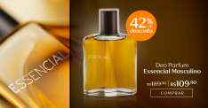 [Natura] Deo Parfum Essencial Masculino - 100ml -  por R$ 110
