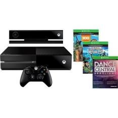 [Americanas] Console Xbox One + Sensor Kinect + Controle sem Fio + 3 Jogos (Via Dowloand) - R$1599