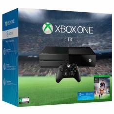 [Walmart] Console Xbox One 1TB + FIFA 2016 Edição Especial EA Games (Via Download) + 1 Ano de EA Access por R$1649 em 9X S/ JUROS
