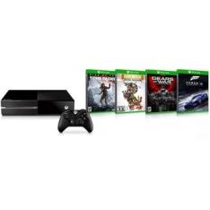 [Walmart] Console Xbox One 500GB Microsoft + Jogo Escolha Seu Game (Via Download) - R$1.479 em 9X s/ juros