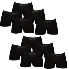[Wallmart] Kit com 10 Cuecas Boxer Zorba Preto