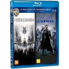 [Americanas] Blu-Ray (duplo) - Cidade das Sombras + Matrix por R$ 10