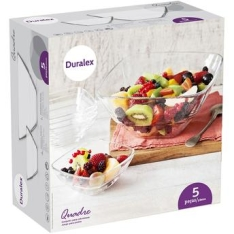 [Walmart] Conjunto para Sobremesa Duralex 5 Peças - R$ 39