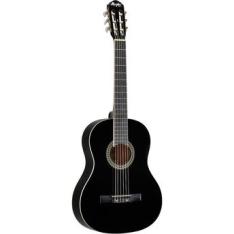 [Walmart] Violão Acústico Memphis AC-39 com 6 Cordas de Nylon Preto por R$219