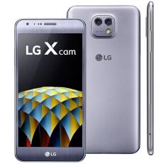 """[Casas Bahia] Smartphone LG X Cam Titânio com Duas Câmeras Traseira, 16GB, Tela de 5.2"""", Android 6.0, 4G, Processador Octa Core de 1.1 GHz e 2GB de RAM por R$ 1439"""