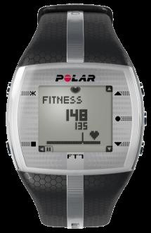 [Saraiva] Monitor de Frequência Cardíaca Polar Ft7m Blk/Sil Preto e Prata  por R$ 284