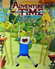 [Saraiva] Livro de Colorir Hora da Aventura  por R$3,90