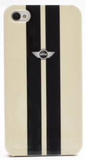 [SARAIVA] Capa Protetora Cg Mobile Em Policarbonato Mini Mnhcp4stwh Stripes Branco Para iPhone 4/4s