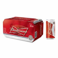 [Empório da cerveja] Cerveja Budweiser Lata 269 ml Caixa 8 un(compre 4 e pague 3) - R$ 23,12
