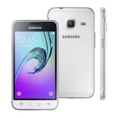 """[Casas Bahia] Smartphone Samsung Galaxy J1 Mini Duos Branco com Dual Chip, Tela 4.0"""", 3G, Câmera de 5MP, Android 5.1 e Processador Quad Core de 1.2 GHz por R$ 359"""