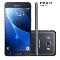 """[Carrefour] Smartphone Samsung Galaxy J5 Metal 16GB Preto 4G Tela 5.2"""" Câmera 13MP Android 6.0 por R$999"""