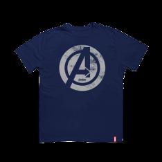 [SARAIVA] Camiseta Logo Avengers - Tamanho M