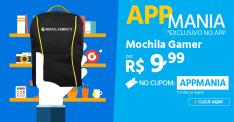 [Submarino] Mochila Gamer por R$ 10