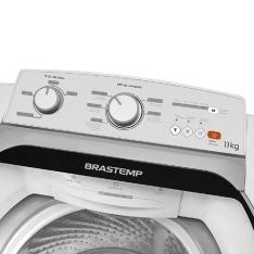 [Shoptime] Lavadora de Roupas Brastemp 11kg BWS11 Cesto Smart Wave - Branco por R$ 1080