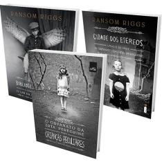 [Submarino] Kit Livro: O Orfanato Da Srta Peregrine Para Crianças Peculiares (Slim) + Cidade Dos Etéreos + Biblioteca De Almas - R$48