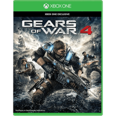 [Submarino] Jogo Gears of War 4 para Xbox One - R$126