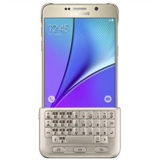 [EFACIL] Capa Protetora com Teclado Galaxy Note 5 Dourado - Samsung POR R$231