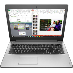 "[Submarino] - Notebook Lenovo Ideapad 310 Intel Core 6 i7-6500u 8GB (2GB de Memória Dedicada) 1TB Tela LED 15"" Windows 10 - Prata - R$2.578"
