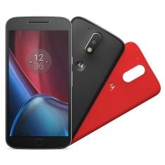[Eletrum] Smartphone Motorola Moto G4 Plus XT1640 Preto