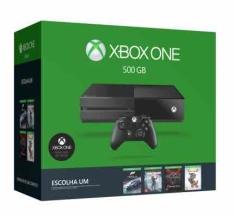 [Saraiva] Xbox One 500GB + Jogo à sua escolha
