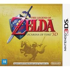 [Submarino] Game The Legend of Zelda: Ocarina of Time - Nintendo 3D por R$86