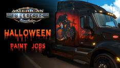 [Gleam] Halloween Paint Jobs Pack para o jogo American Truck Simulator - grátis (ativa na Steam)