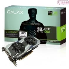 CISSA MAGAZINE - Placa de Vídeo Galax GeForce GTX 1060 OC 3GB 60NNH7DSL9C3 - NO BOLETO R$975