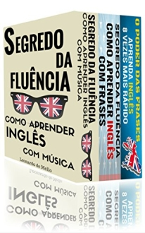 [Amazon] Como Aprender Inglês (3 em 1): Segredo da Fluência: Como Aprender Inglês Com Música... - eBook