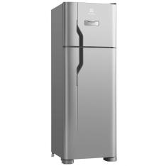 [Shop Fácil] Refrigerador Electrolux Duplex DFX39 Frost Free com Painel Blue Touch e Espaço Extra Frio 310 L - Inox por R$ 1705