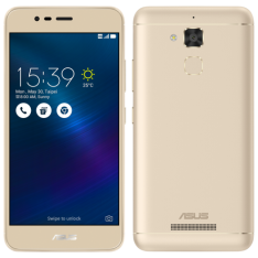 "[Loja Asus] ASUS Zenfone 3 Max 5,2"" Dourado"