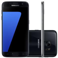 """[Carrefour] Smartphone Samsung Galaxy S7 SM-G930 32Gb Preto 4G Tela 5,1"""" Câmera 12MP Android 6.0 - R$2399"""