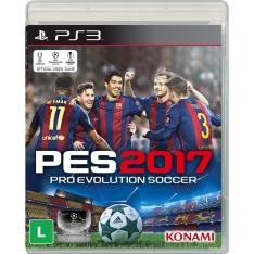 [Ponto Frio] Jogo Pro Evolution Soccer 2017 - PS3 por R$ 97