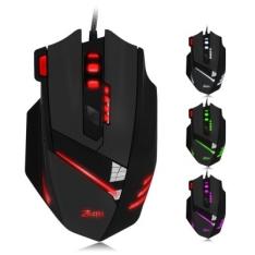 [Gearbest] Mouse Gamer 7200DPI ZELOTES T  -  7 Botões e Led 6 cores - R$27
