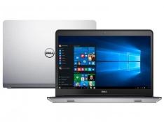 """Notebook Dell Inspiron 14 I14-5448-C25 Intel Core - i7 8GB 1TB Windows 10 LED 14"""" Placa de Vídeo 2GB - R$2.849"""