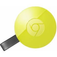 [bydubai] Google ChromeCast 2 Original Americano HDMI Amarelo
