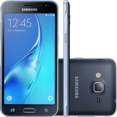 "Smartphone Samsung Galaxy J320m SM-J320M Dual Chip Android Tela 5"" Quad-Core 8GB Câmera 8MP - Preto"