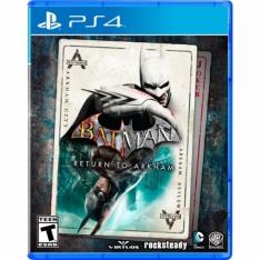 [EXTRA] Batman Return to Arkham (Edição Limitada) - PS4 - R$144,42