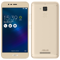 "SMARTPHONE ASUS 4G129BR ZENFONE 3 MAX 5.2"" 4G DUAL 16GB DOURADO"