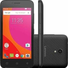 "[AMERICANAS] Smartphone Lenovo Vibe B Dual Chip Android 6.0 Tela 4.5"" 8GB 4G Câmera 5MP - Preto"