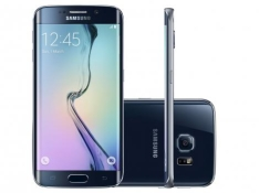 "Smartphone Samsung Galaxy S6 Edge 32GB Preto 4G - Câm. 16MP + Selfie 5MP Tela 5.1"" WQHD Octa Cor por R$ 1880"