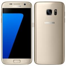 "Smartphone Samsung Galaxy S7, Dourado, Tela 5.1"", 4G+WiFi+NFC, Android 6.0, 12MP, 32GB por R$2232"