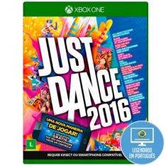 Jogo Just Dance 2016 para Xbox One (XONE) - Ubisoft