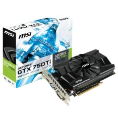 [Guriveio] Placa de Vídeo MSI GeForce GTX 750TI 2GB - R$499,99