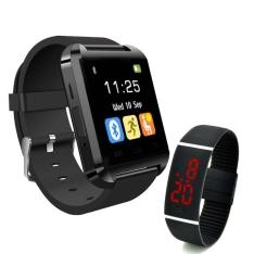 Kit de Relógios S7S Smart multifuncional + Relógio de pulso smart com tela led