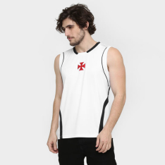 Camiseta Regata Vasco Logo Centro (Apenas Tamanho P) - R$25