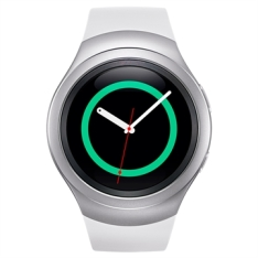 "Galaxy Gear S2 Sport Prata 1.2"" 4GB, Bluetooth, Comando por Voz - Samsung POR R$1255"